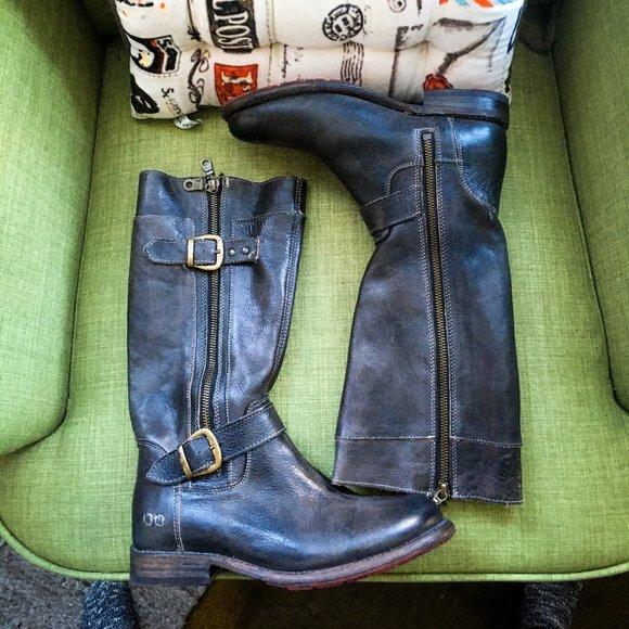 BEDSTU   Gogo Lug Boots - Black, 8 *with flaw